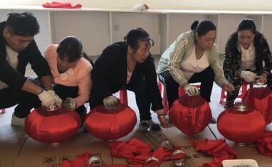 洛南县岗前培训实现就业脱贫