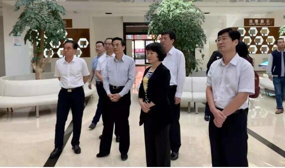 省残联党组书记、理事长相红霞一行赴甘肃省残疾人综合服务基地考察学习