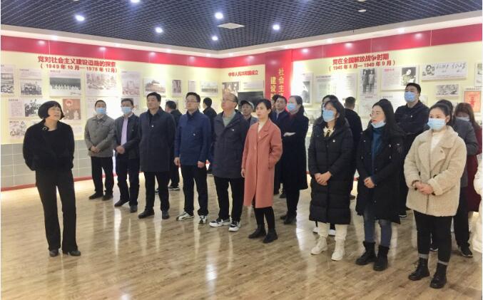 商南县就业服务中心党支部组织党员接受党史教育